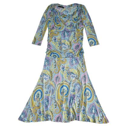 Etro Patroon print jurk