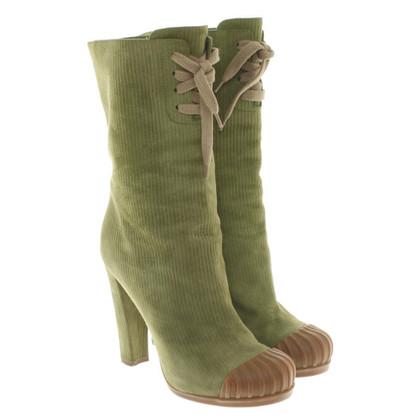 Fendi Boots in green