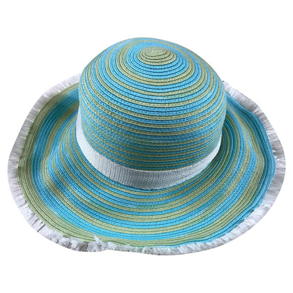 Missoni Hat in blue / green