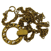 Chanel Chanel necklace vintage gold metal