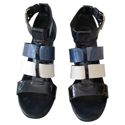 Hogan Sandals in varnished