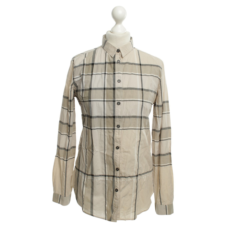 Burberry Shirt In Check Pattern Buy Second Hand Burberry