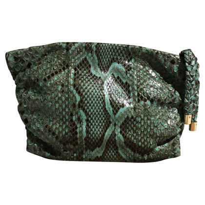 Tod's clutch Python Leather