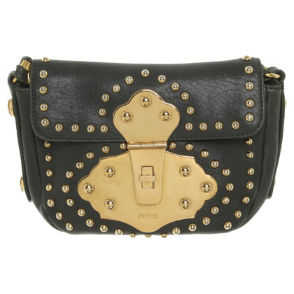 Emilio Pucci Leather bag in dark green