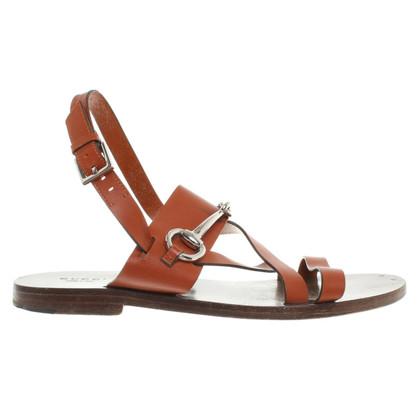 Gucci Sandalo in Brown