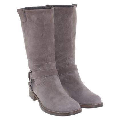 Brunello Cucinelli Boots in Gray