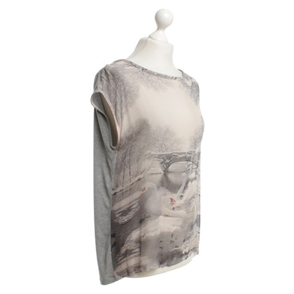 Marc Cain Top with pictorial print