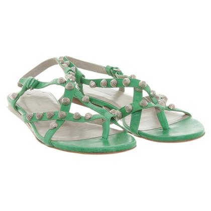 Balenciaga Sandals in green
