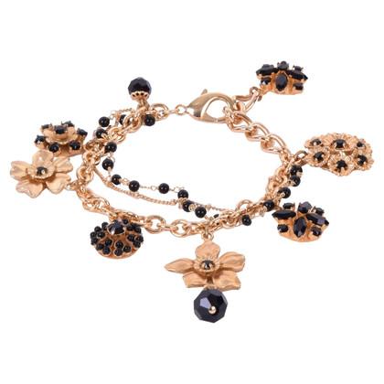 Dolce & Gabbana braccialetto di fascino color oro