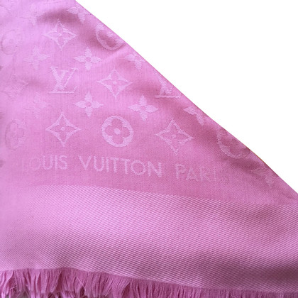 Louis Vuitton Monogram scarf in pink