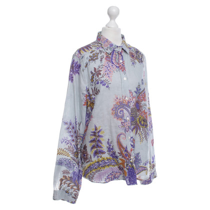 Etro Blouse with a floral pattern