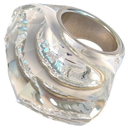 Daniel Swarovski Duidelijke Crystal ring