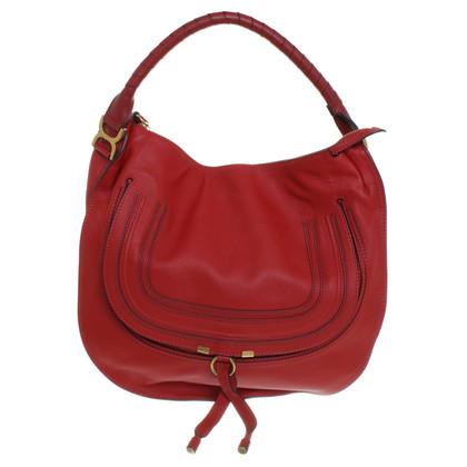 "Chloé ""Marcie Bag"" in red"
