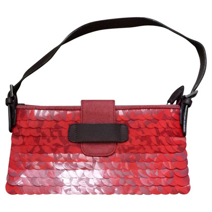 Max & Co Red shoulder bag with pailettes