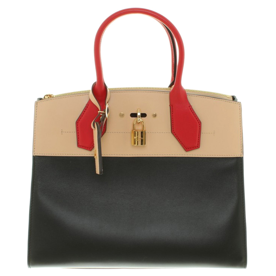 louis vuitton handtasche in tricolor second hand louis vuitton handtasche in tricolor. Black Bedroom Furniture Sets. Home Design Ideas