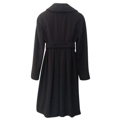 Max Mara manteau de cachemire noir