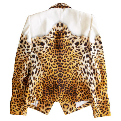 Just Cavalli Blazer mit Leopardenprint