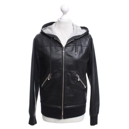 Dolce & Gabbana Sporty jacket made of lambskin