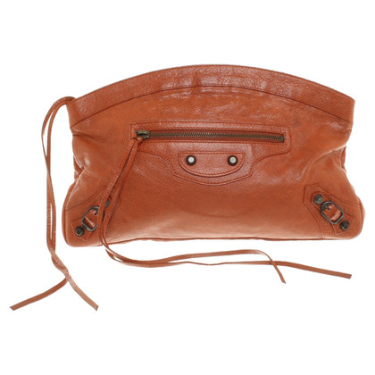Balenciaga clutch Brown