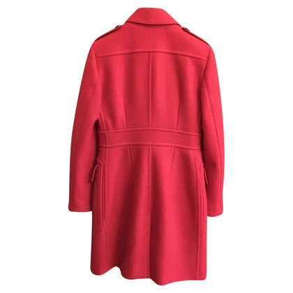 Burberry Wool coat in red