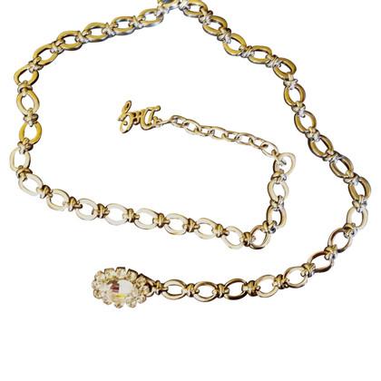Dolce & Gabbana Chain belt with rhinestone