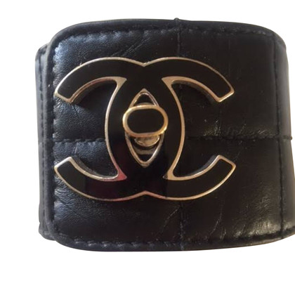 Chanel lederen armband