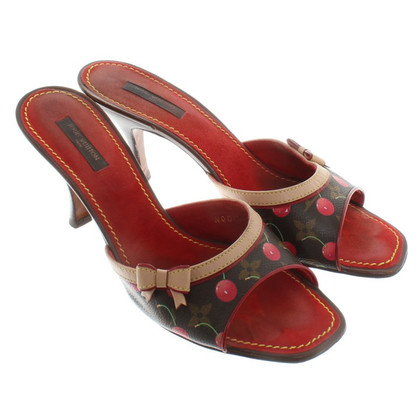 Louis Vuitton Sandals Monogram Cerises