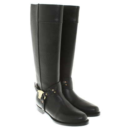 Versace Boots in black