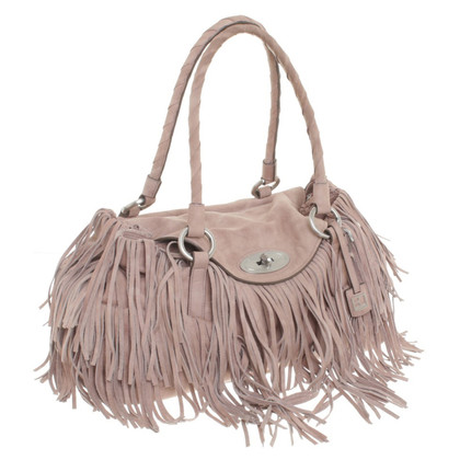 Boss Orange Leather handbag with tassels