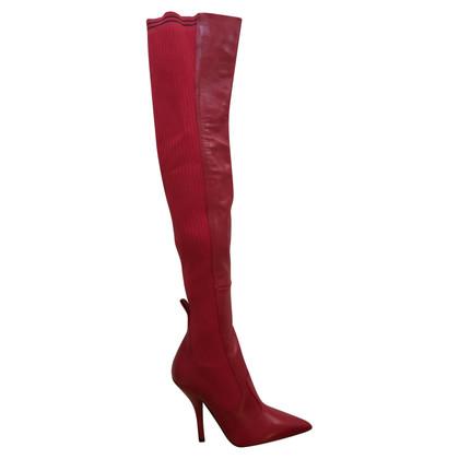 Fendi Stivali in rosso