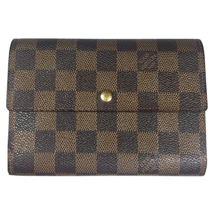 "Louis Vuitton ""Porte-Trésor Damier Ebene Canvas"""