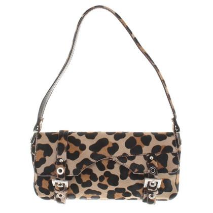 Dolce & Gabbana Borsa a tracolla con stampa leopardo