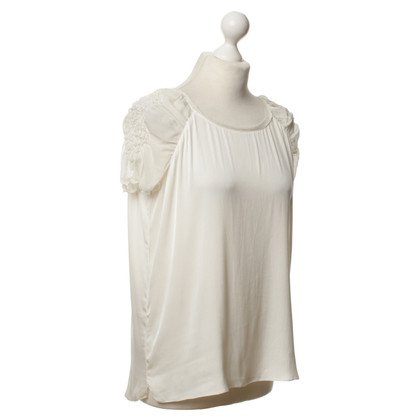 Elie Tahari White top silk