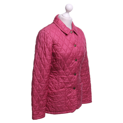 Barbour Light quilted jacket in pink
