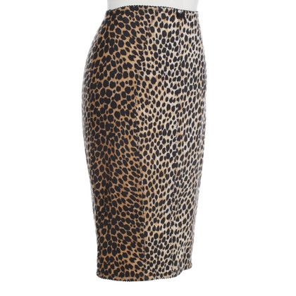 Dolce & Gabbana skirt with leopard pattern