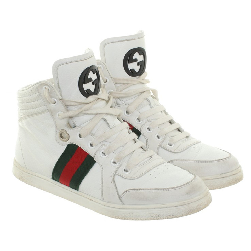 gucci sneakers in wei second hand gucci sneakers in. Black Bedroom Furniture Sets. Home Design Ideas