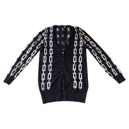 Moschino Love Vest in zwart / wit