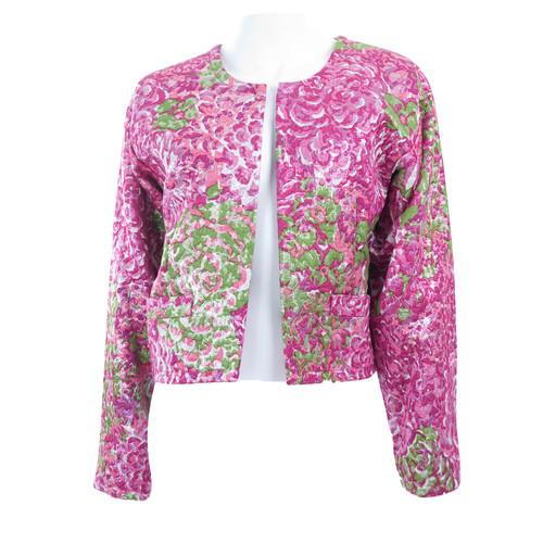 d55343bba20 Yves Saint Laurent Vintage Brocade jacket - Second Hand Yves Saint ...