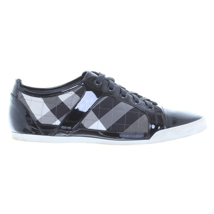 Burberry Sneakers with checked pattern