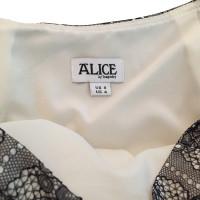 Alice By Temperley Opulento gonna a trapezio
