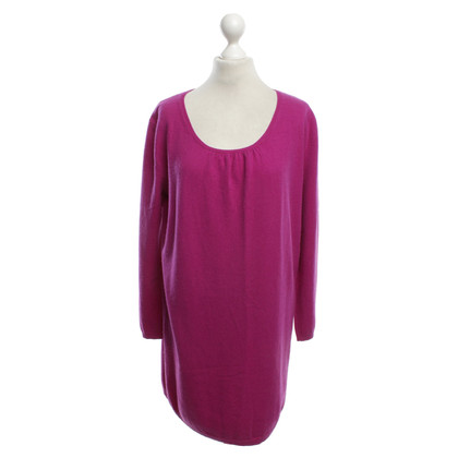 Allude Cashmere dress in violet