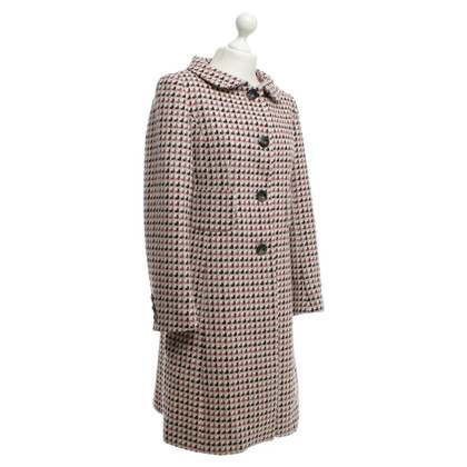 Hobbs Wool coat with pattern