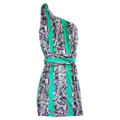 Missoni One-shoulder dress with a floral pattern