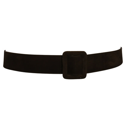 Escada Brown suede belt
