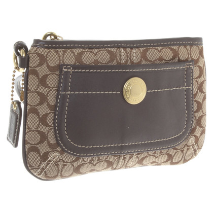Coach Pochette with logo pattern