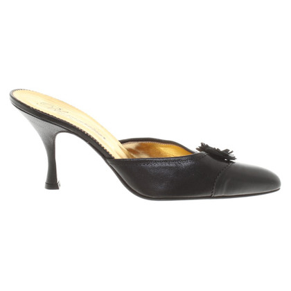 Blumarine pumps in zwart