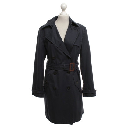 Max Mara Trenchcoat in dark blue