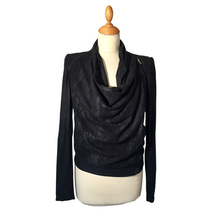 Helmut Lang Leather Blazer