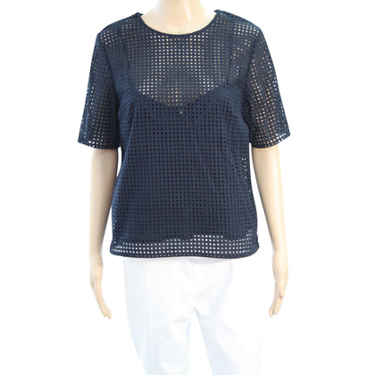 Hobbs Top in blu scuro
