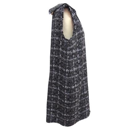 Dolce & Gabbana Kleid mit Spitzenkragen